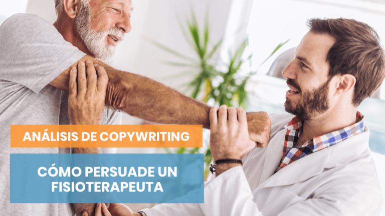 Análisis de copywriting: ¡Una clínica de fisioterapia!