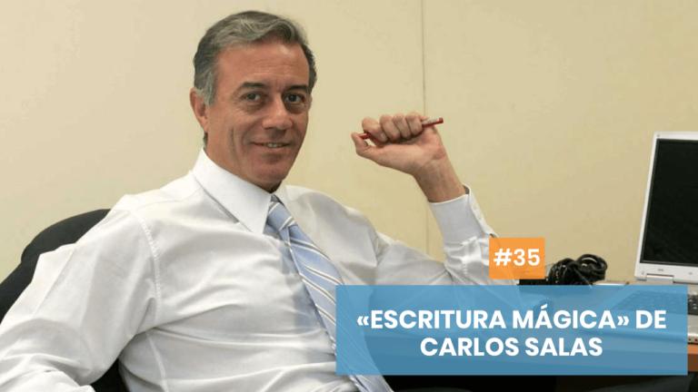 Copymelo #35: «La escritura mágica» de Carlos Salas