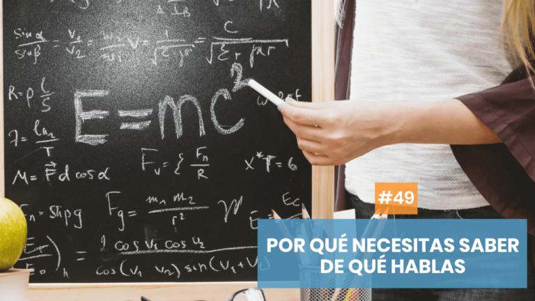 Copymelo #49: Por qué tienes que saber sobre qué escribes