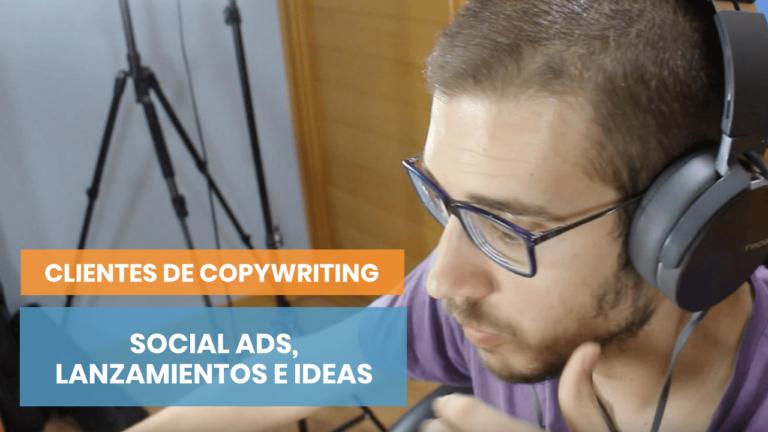 Copywriting, social media ads y lanzamientos de empresas