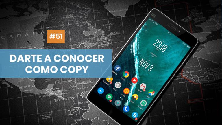 Copymelo #51: Cómo darte a conocer como copywriter