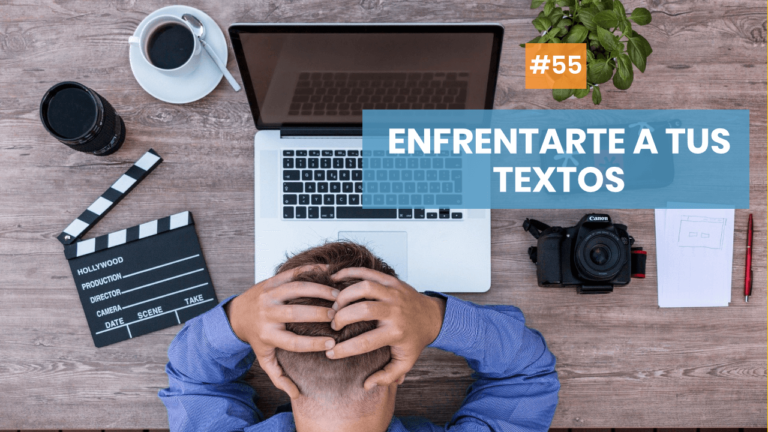 Copymelo #55: Cómo enfrentarte a tus textos en épocas poco inspiradas