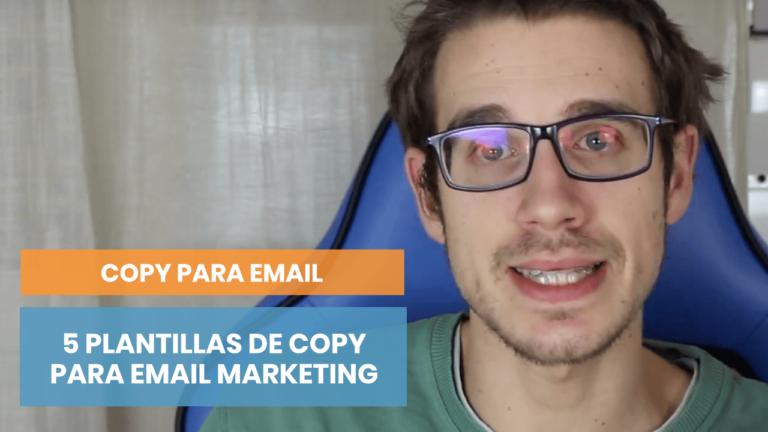 5 plantillas de copywriting para asuntos de email en 5 minutos