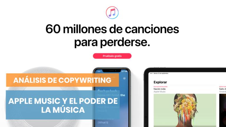 Apple Music: y las historias se empezaron a cantar