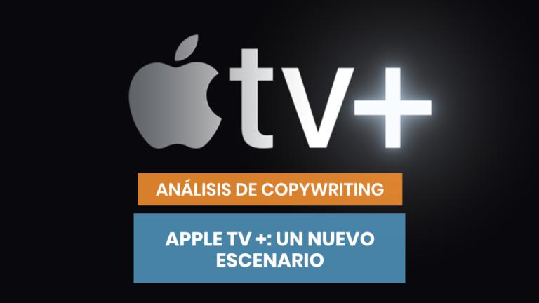 Apple TV +: el copywriting de cine de Tim Cook