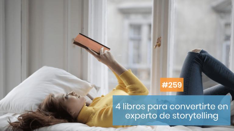 Copymelo #259: 4 libros para aprender storytelling desde cero
