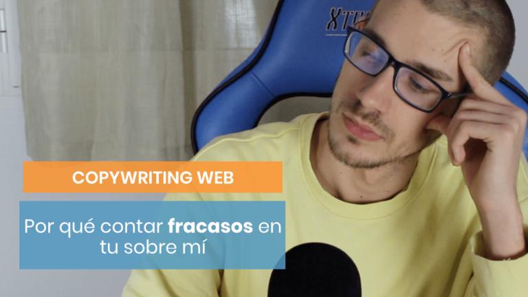 ¿Estás escribiendo tu sobre mí?:  Cuenta un fracaso