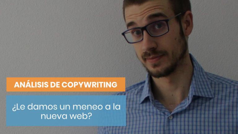 ¿Analizamos el copy de la nueva web de Copymelo?