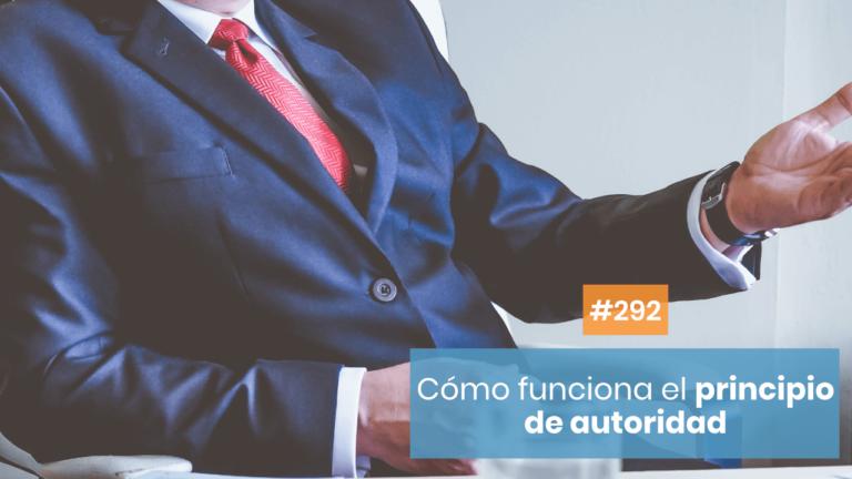 Copymelo #292: Principio de autoridad