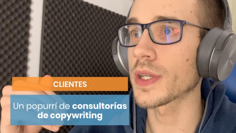Un popurrí de consejos de consultorías de copywriting