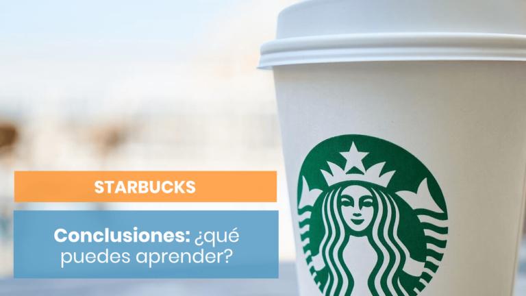 Starbucks: ¿una ronda de conclusiones?