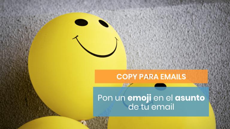 Pon un emoji en el asunto de tu email