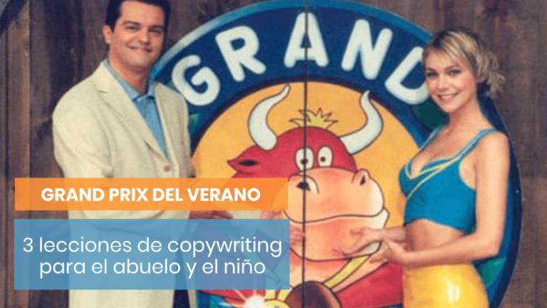 ¿Qué puedes aprender de copywriting del Grand Prix del Verano?