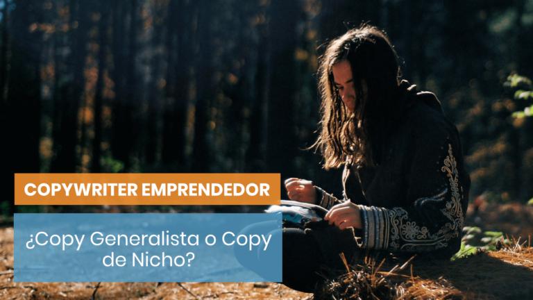 Copywriting: ¿especializarse o no especializarse?