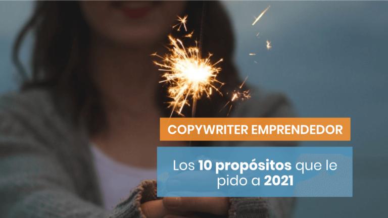10 propósitos de copywriting para 2021