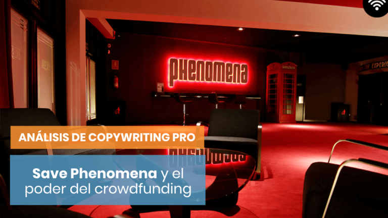 Save Phenomena - Análisis de Copywriting Pro