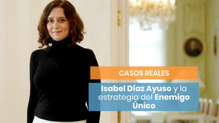 [Socialismo o Libertad] ¿Qué estrategia persuasiva empleó Isabel Díaz de Ayuso?