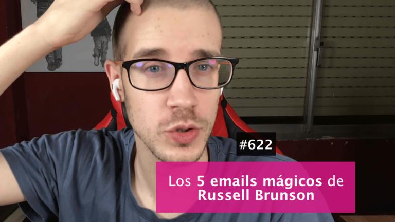 La secuencia de 5 emails con la que vende Russell Brunson