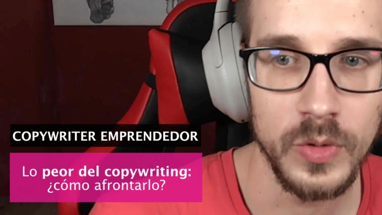 «Siento que escribo peor que otros copys»