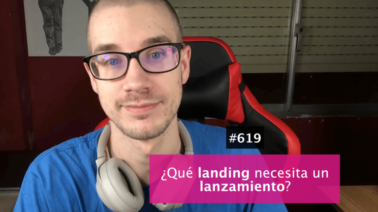 ¿Cuáles son las landing que necesitas en un lanzamiento?